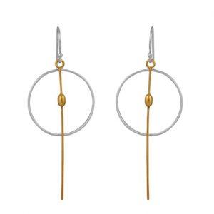 Μακριά σκουλαρίκια κύκλοι