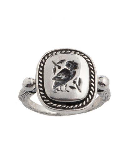 Δαχτυλίδι Κουκουβάγια από Ασήμι 925