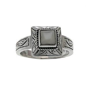 Δαχτυλίδι από Ασήμι 925 με πέτρα Φίλντισι