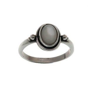 Δαχτυλίδι από Ασήμι 925 με Φίλντισι