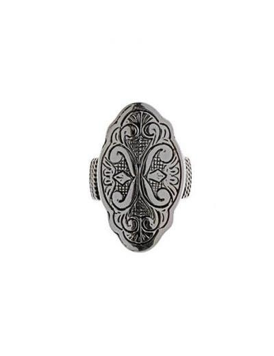 Εγχάρακτο Δαχτυλίδι από Ασήμι 925