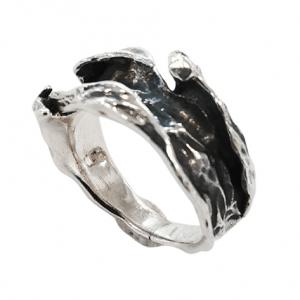 Χειροποίητο Ασημένιο Δαχτυλίδι