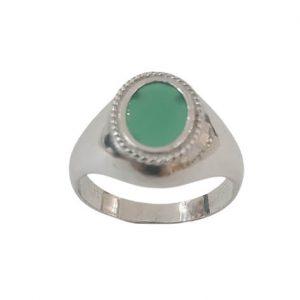 Ασημένιο Ανδρικό Δαχτυλίδι με Όνυχα